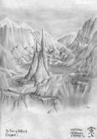 LotR: Tower of Orthanc by Zarem