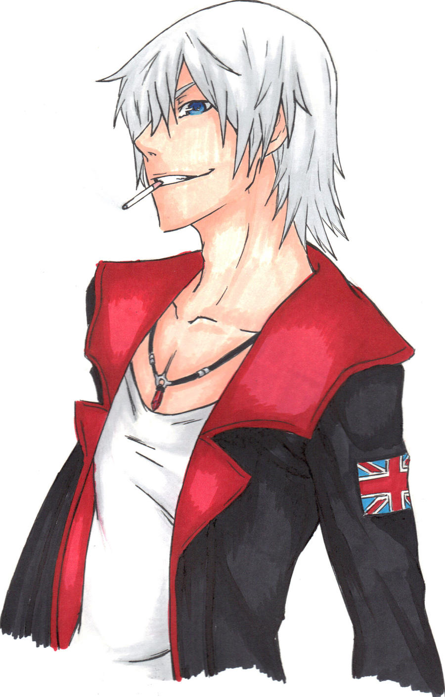 Dmc Devil May Cry by xXLostPaintingsOx