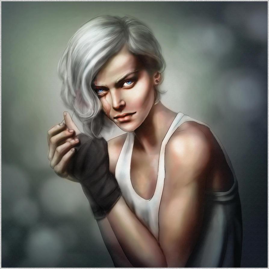 OC portrait by CocaineJia