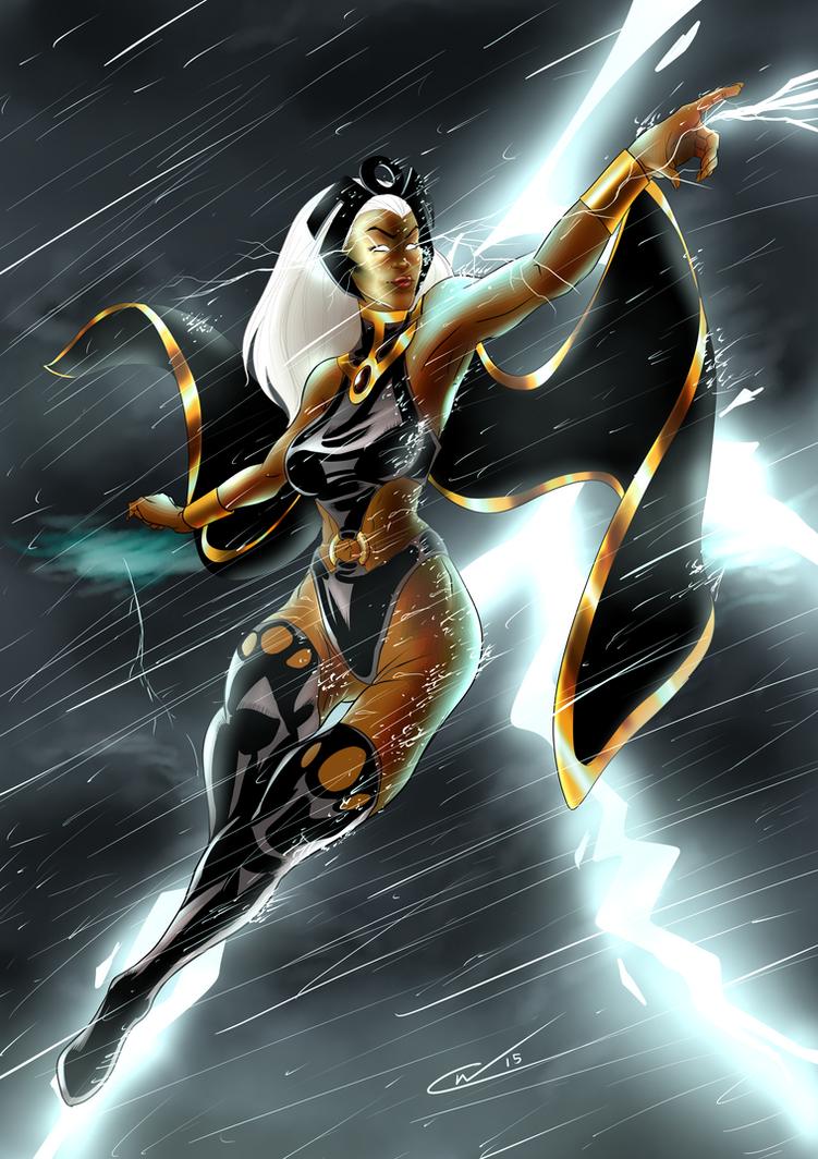 Storm Print by Qualinwraith