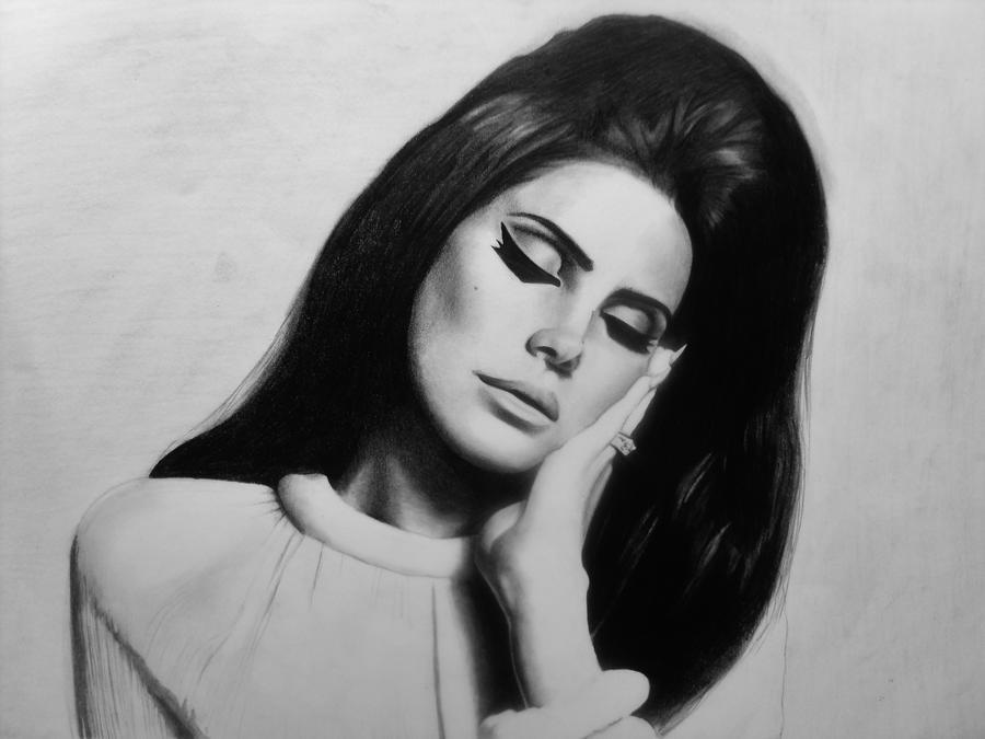 Lana Del Rey by clvire