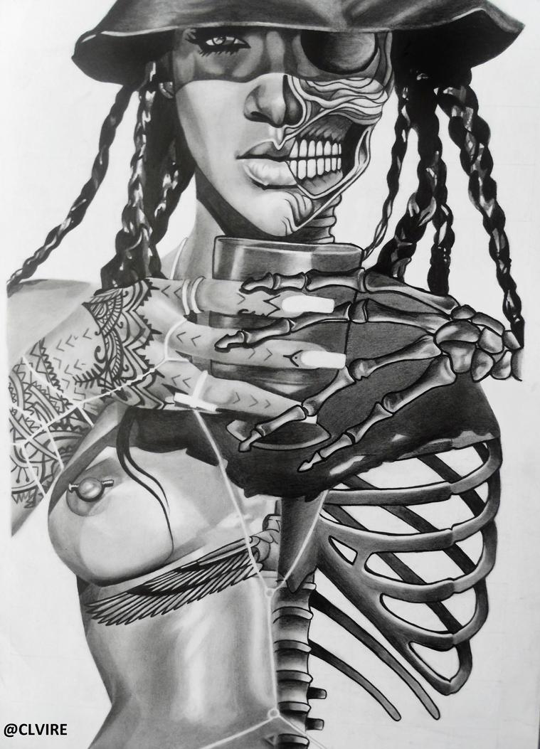 Rihanna by clvire