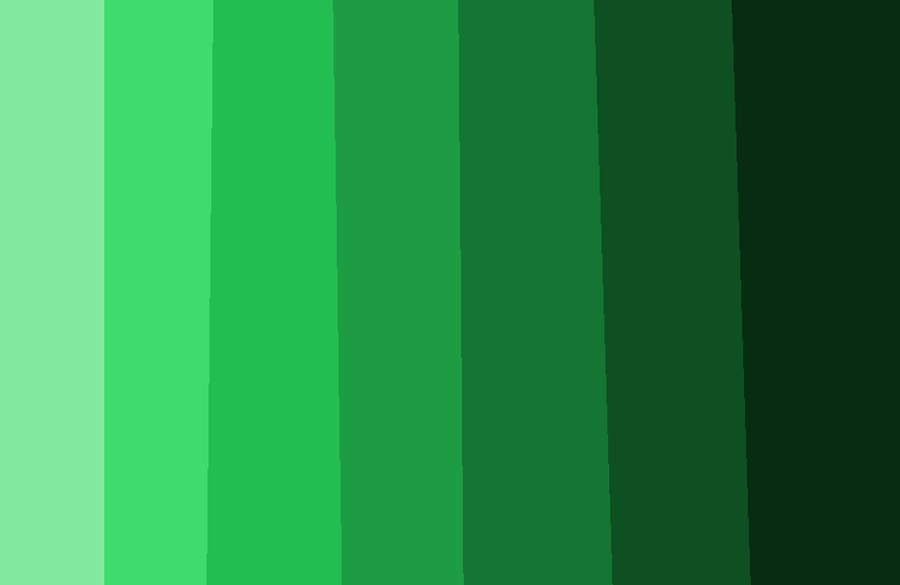 Tonos de color verde by licae on deviantart - Paleta de colores verdes ...