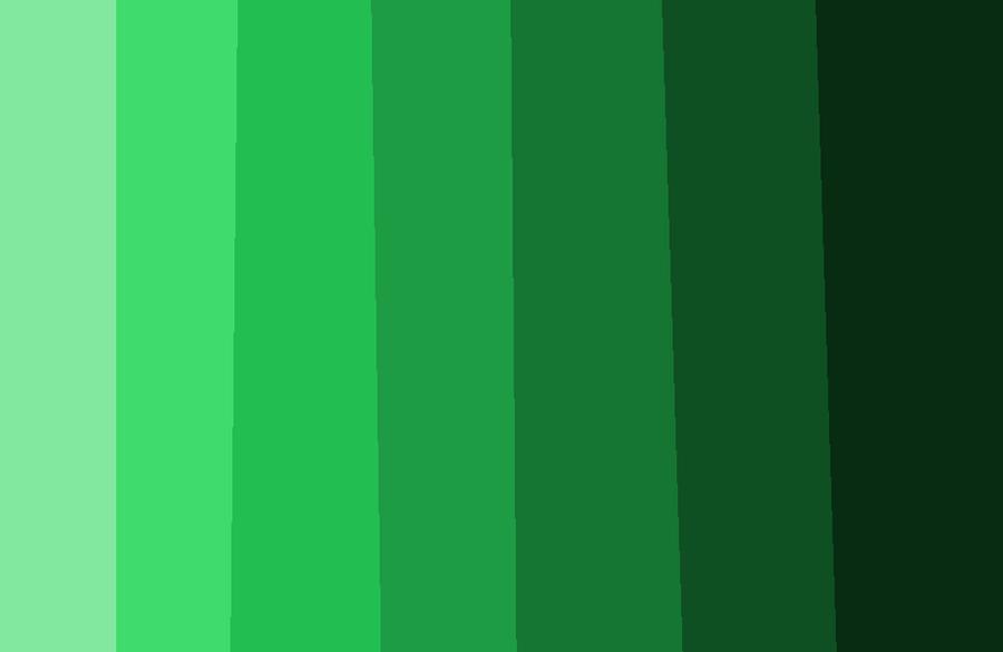 Tonos de color verde by licae on deviantart - Gama de colores verdes ...