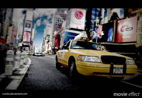 New York City: Movie Effect by CurtiXs