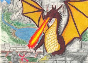 Dragons Wrath by arcanefury