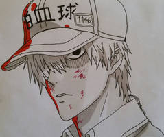 White Blood Cell 1146 - Cell at Work by HikaRoronoa3