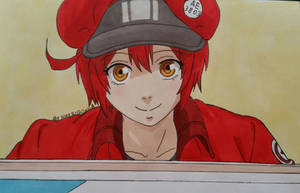 Red Blood Cell - Cell at Work by HikaRoronoa3