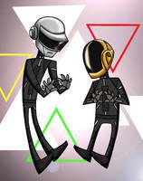 Daft Punk by aerettberg