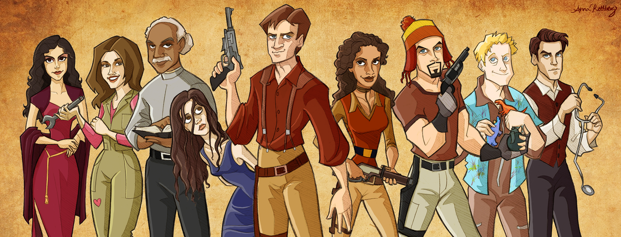 Firefly Cartoonified by aerettberg