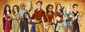 Firefly Cartoonified