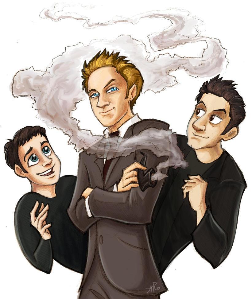 Buffy- The Trio by aerettberg