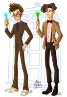 Ten and Eleven by aerettberg