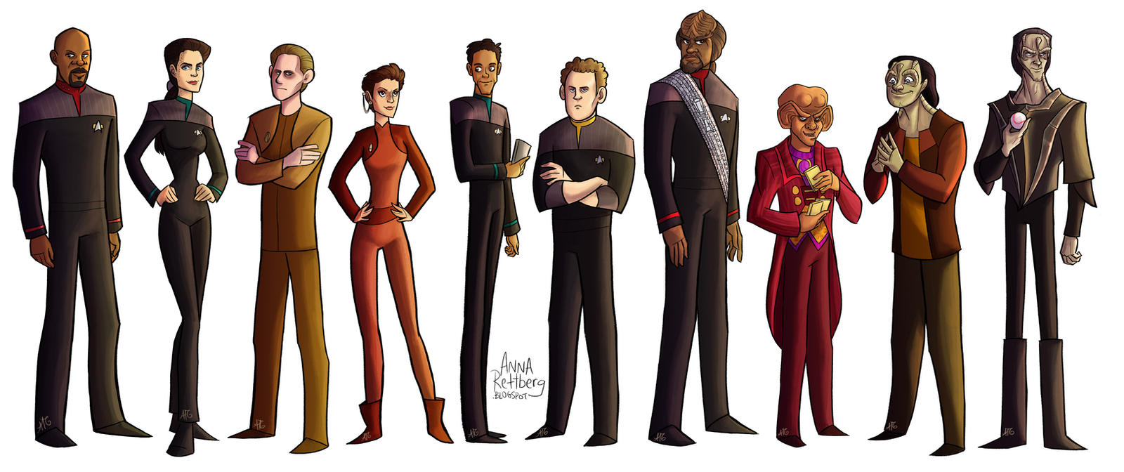 Star Trek: DS9 by aerettberg