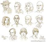 Breaking Bad caricatures