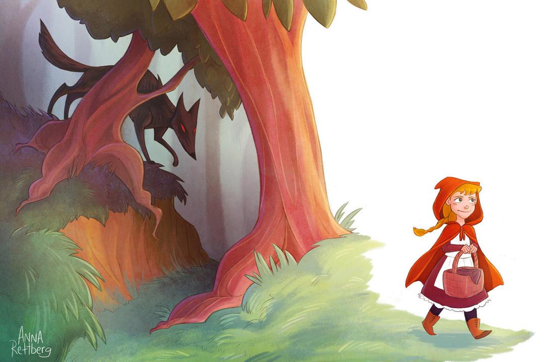 Little Red by aerettberg