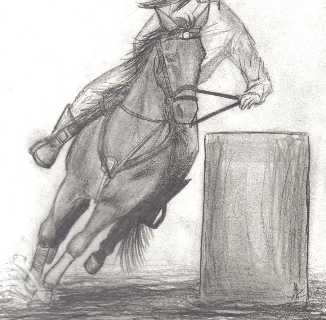 Barrel Racer By Aerettberg On Deviantart