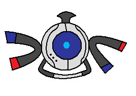 Wheatley the... Magnemite? by UltamiteLifeForm360