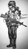 Neue Bundeswehr Infanterie (Sketch)