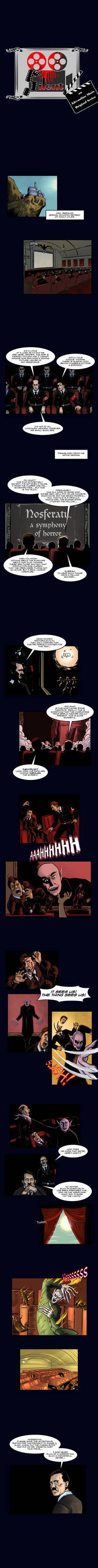 Silent -  New Horror Webcomic