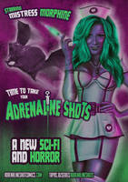 Mistress Morphine Movie Poster Pin Up