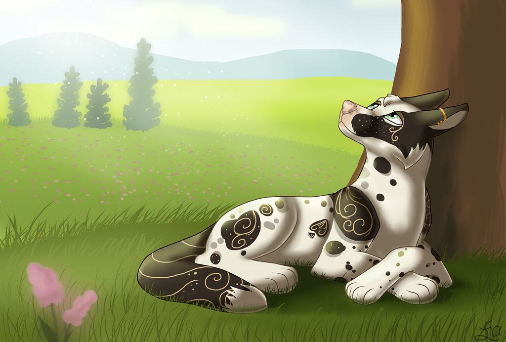 [C] A Moment Alone by Funny-arts