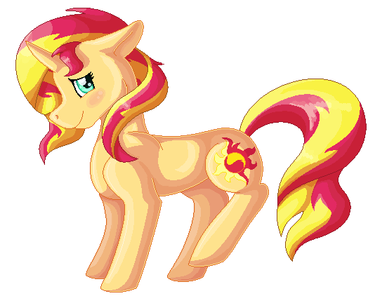 Sunset Shimmer PageDoll by Funny-arts