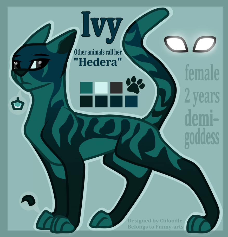 Reference Sheet: Ivy by Funny-arts