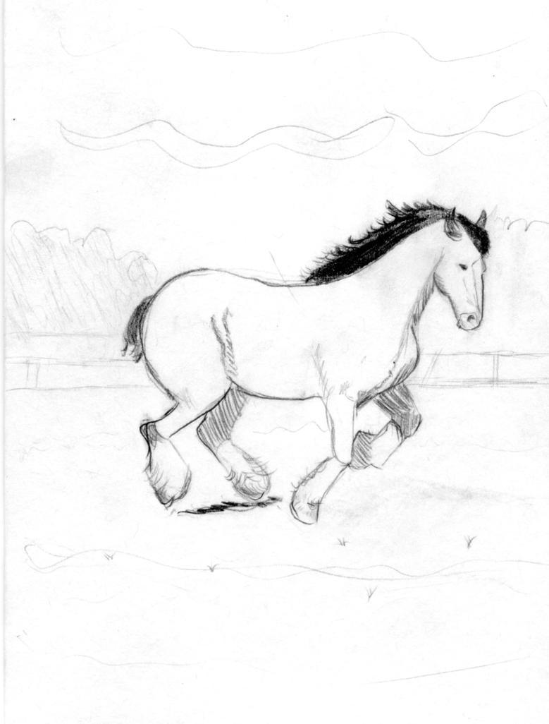 Card 001 Happy Horse by Roscoe3000