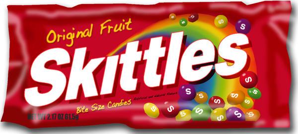 Skittles Bag Png Skittle Bag Drawing