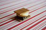 polymer clay smores bar by l337Jacqui