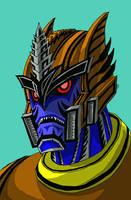 Dinobot by WerewolfThorn