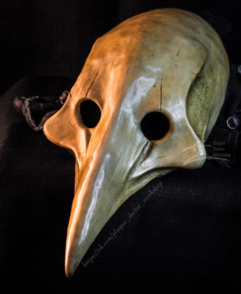 Чумная маска как сделать