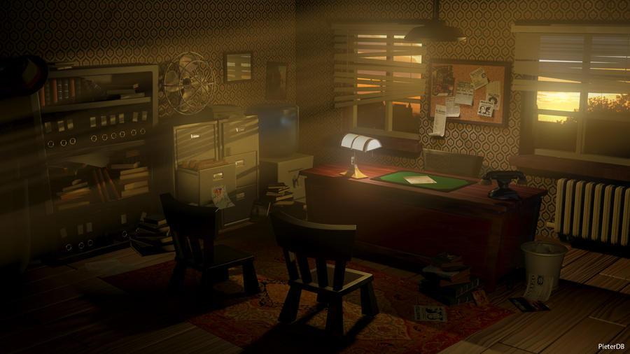 Detective S Bureau By Pieterdb On Deviantart