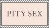 pity sex band stamp by fogIake