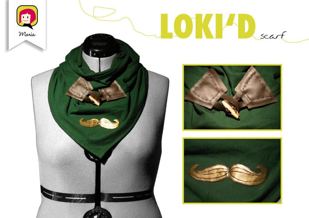 'LOKI'D' scarf by RidaChan