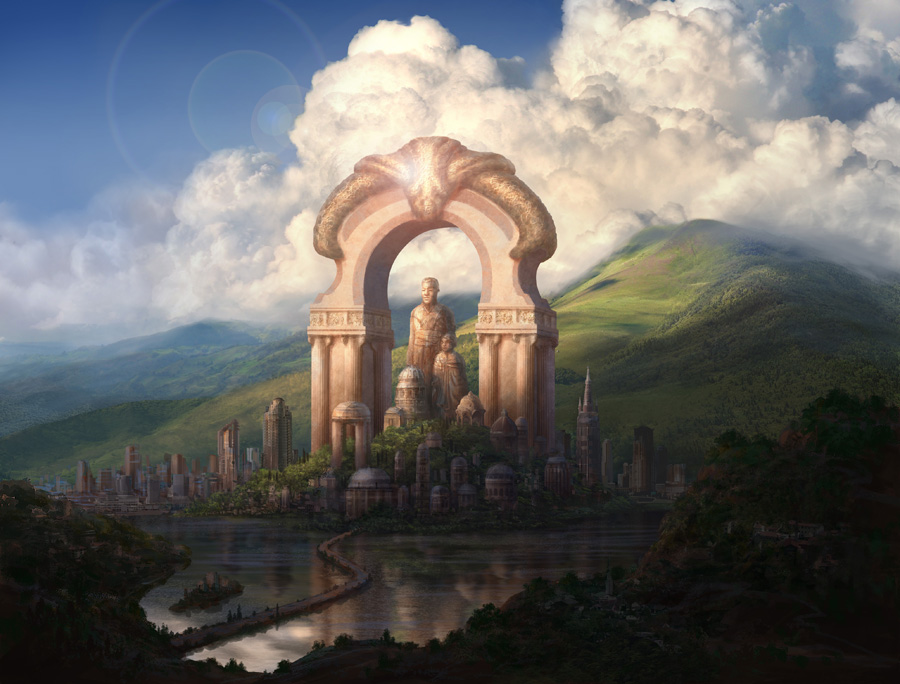 Cityscape concept by chvacher