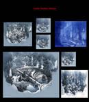 Enchanted design/concept art/art direction