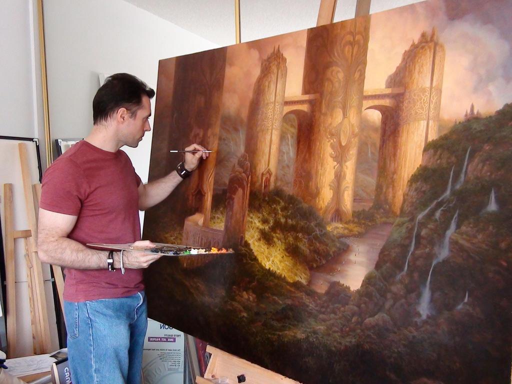 Christophe painting Neo-Samarkand