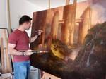Painting Neo-Samarkand