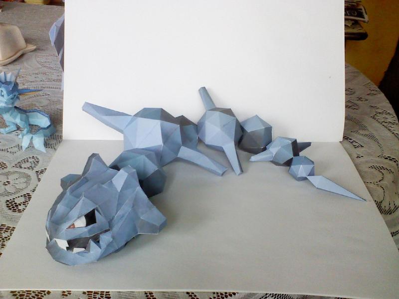 Steelix papercraft by Weirda208