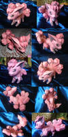 Vulpix papercraft by Weirda-s-M-art
