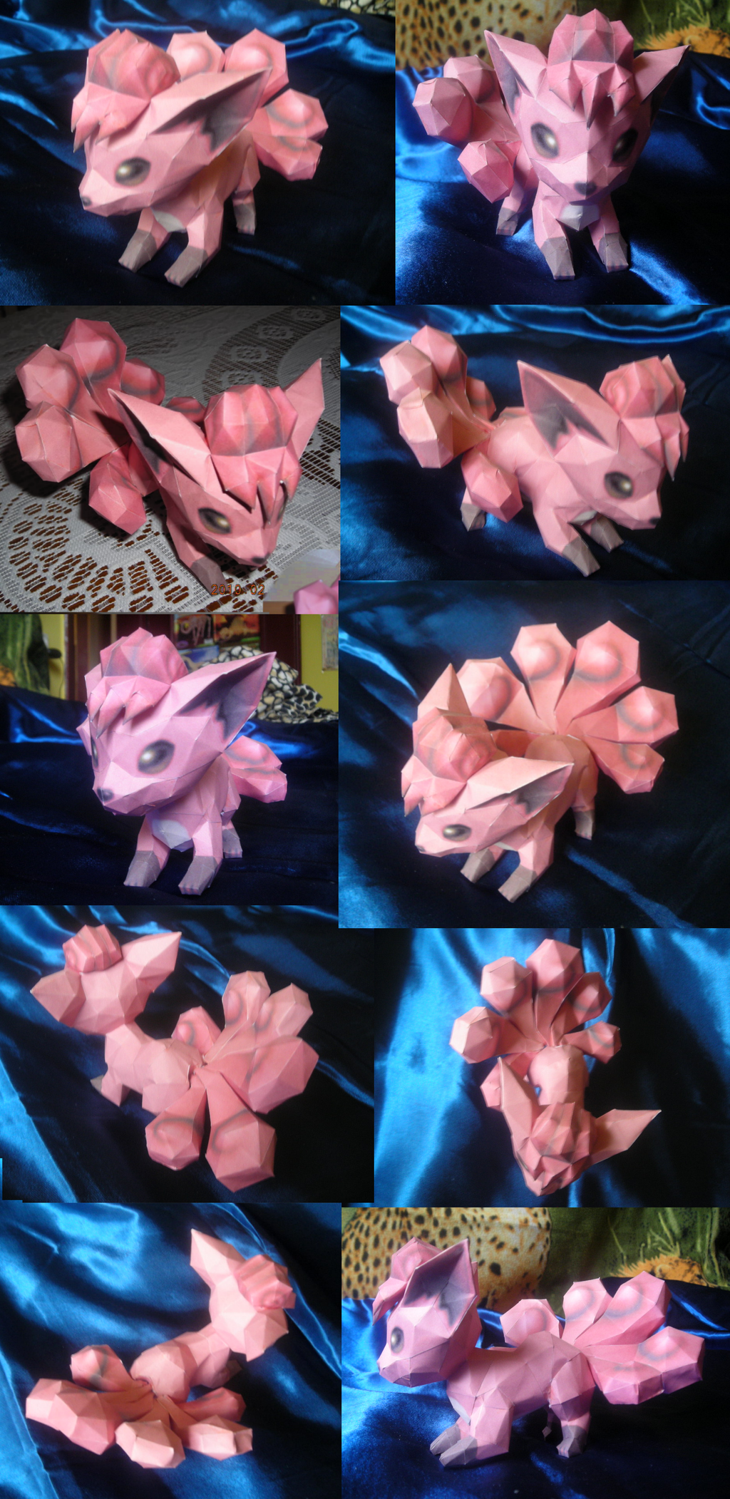 Vulpix papercraft by Weirda208