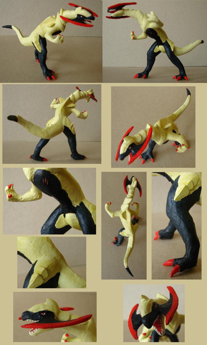 Haxorus sculpture by Weirda208