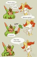 It's a carrot by Weirda-s-M-art