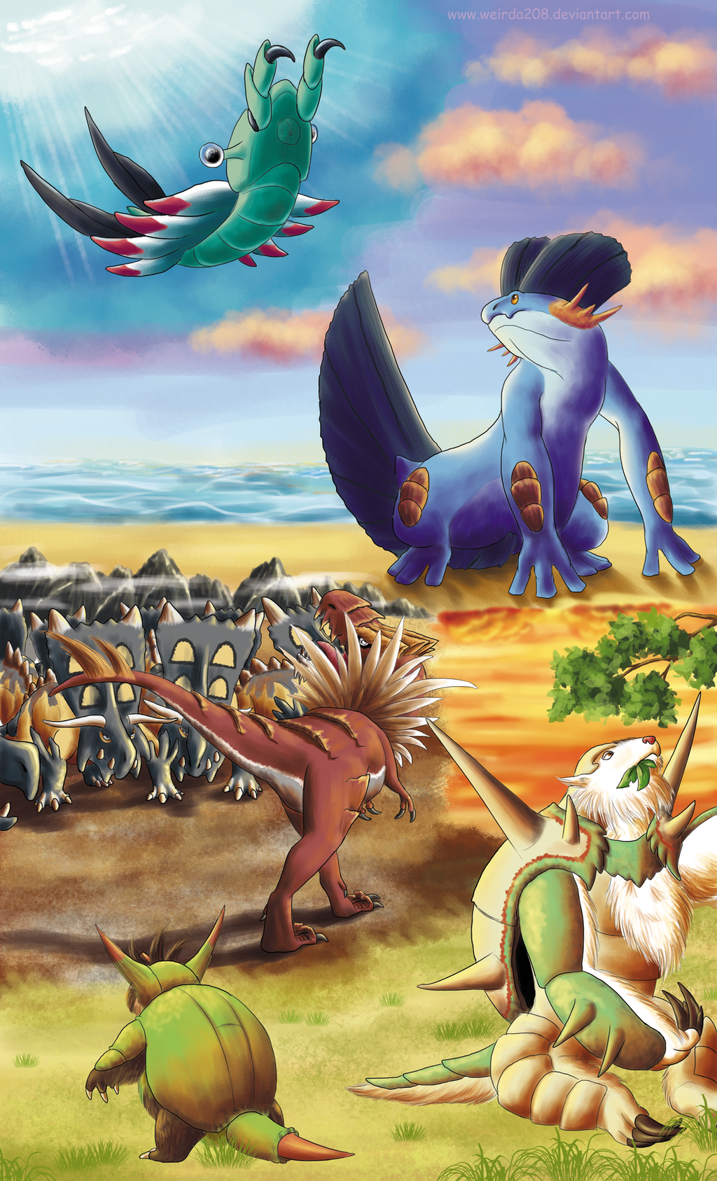 The Wonderful Pokemon Prehistory By Weirda208 On Deviantart