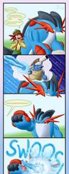 Mega swampert can do WHAT by Weirda-s-M-art