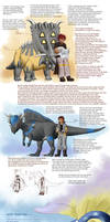 Pokemon Paleontologists trio