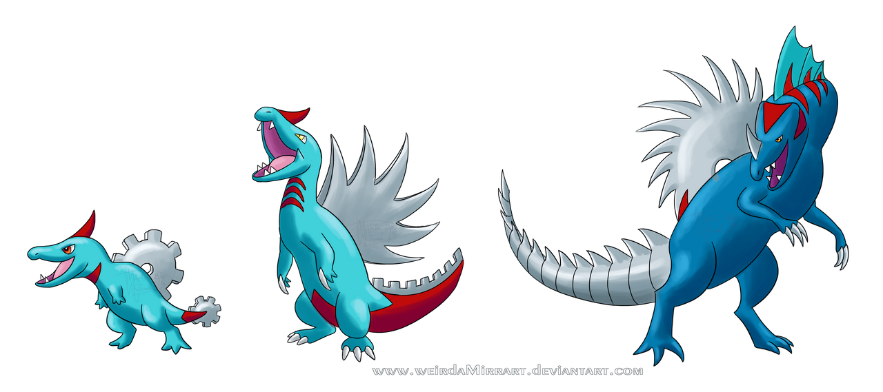 the gallery for gt fakemon starters