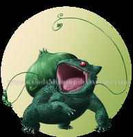 Bulbasaur for a Collab by Weirda-s-M-art